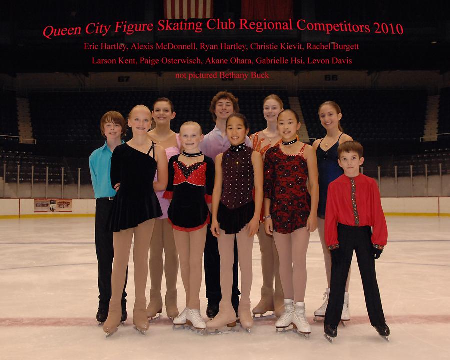 2010 Regional Competitors