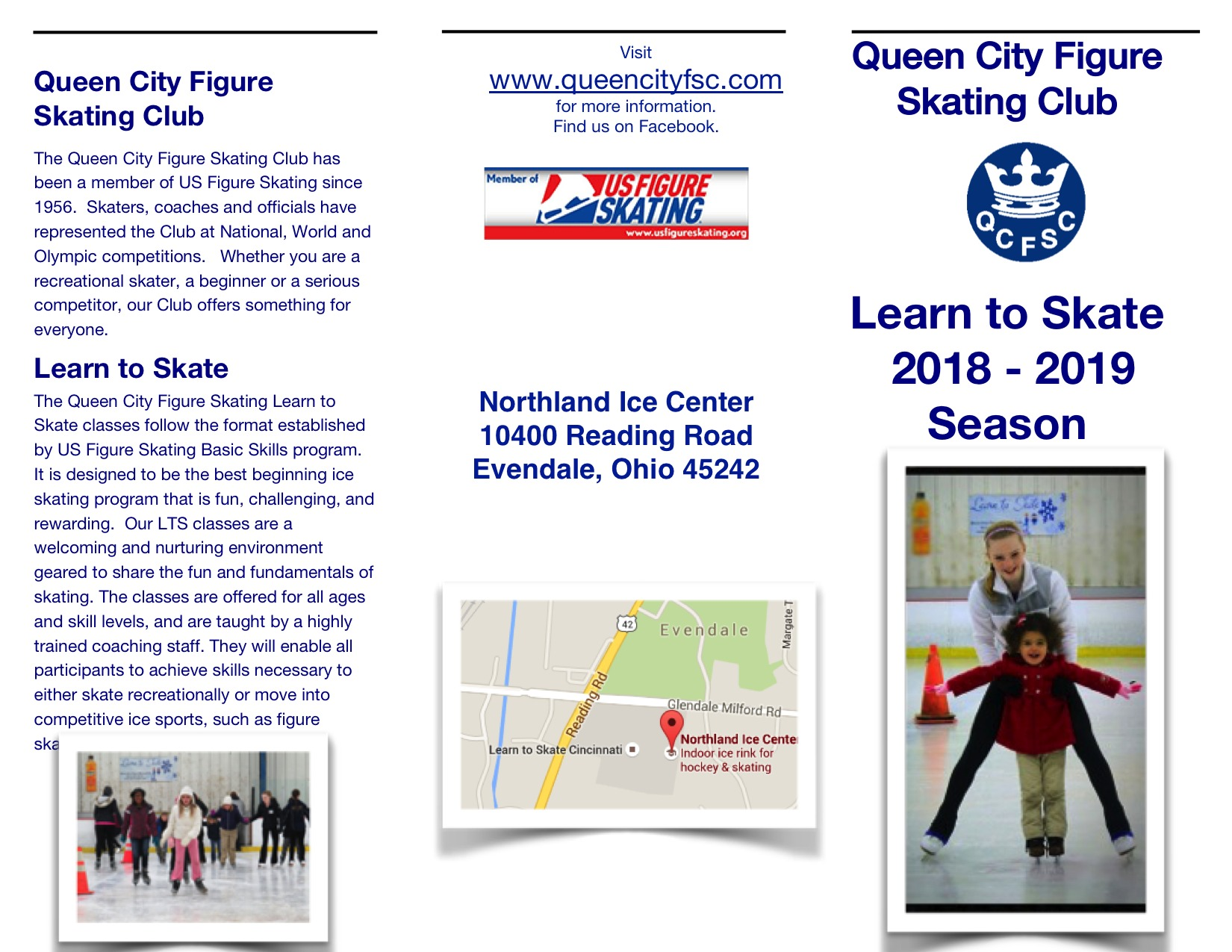 QCFSC Learn to Skate 2018-19