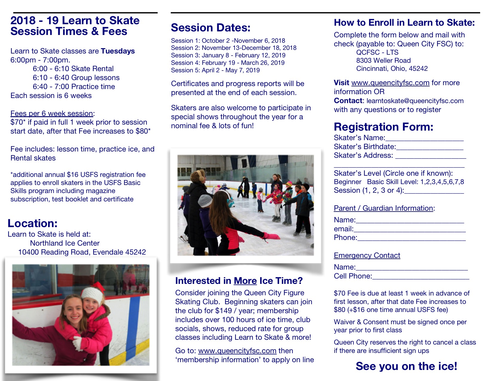 Learn to Skate 2018-19
