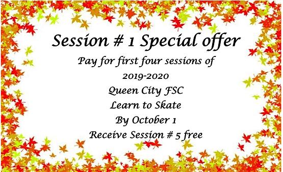 QSFSC 2019-20 LTS Session Special Offer