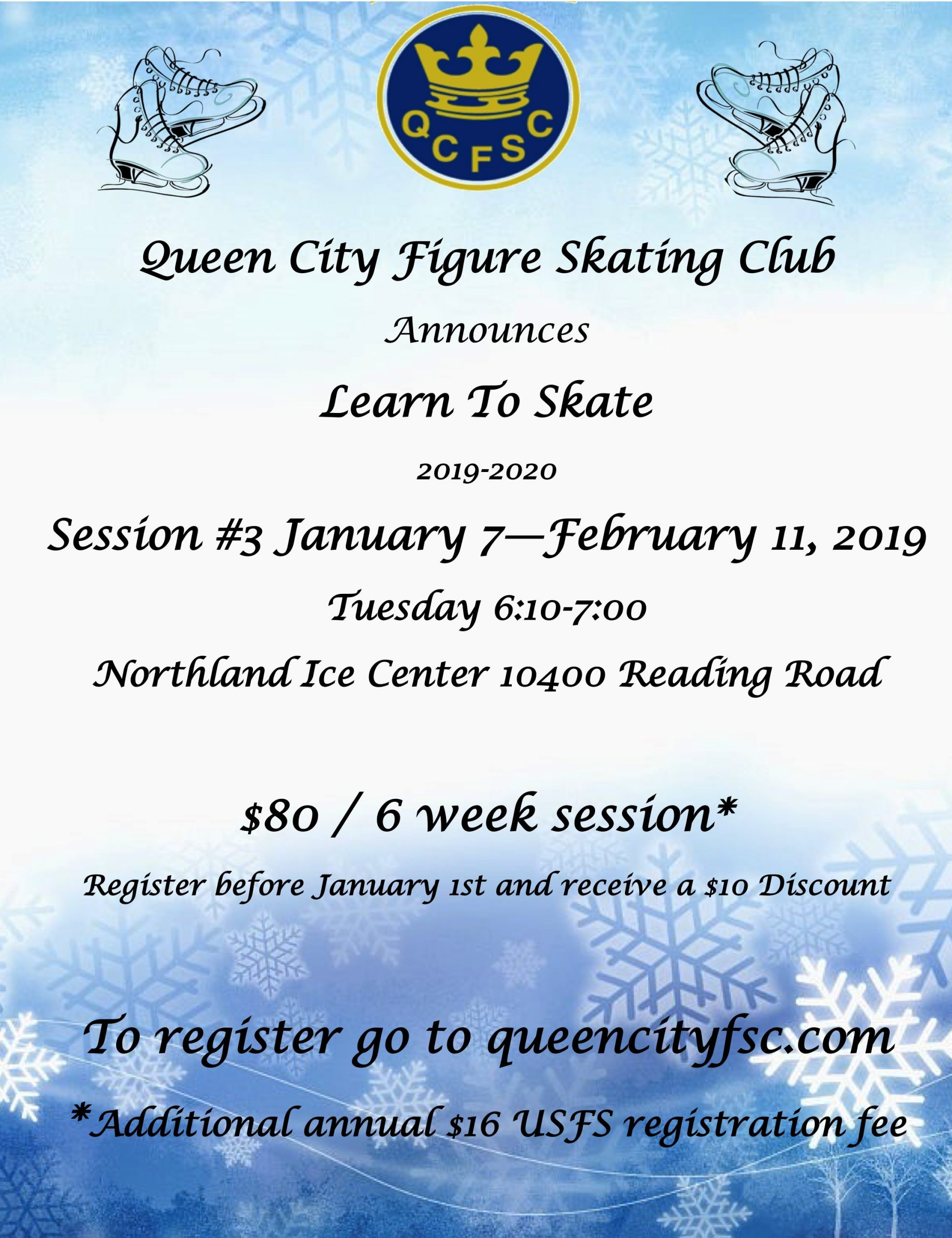 Learn to Skate 2019-20 Session 3